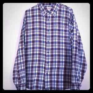 Wrangler Men's Long Sleeve Plaid Shirt